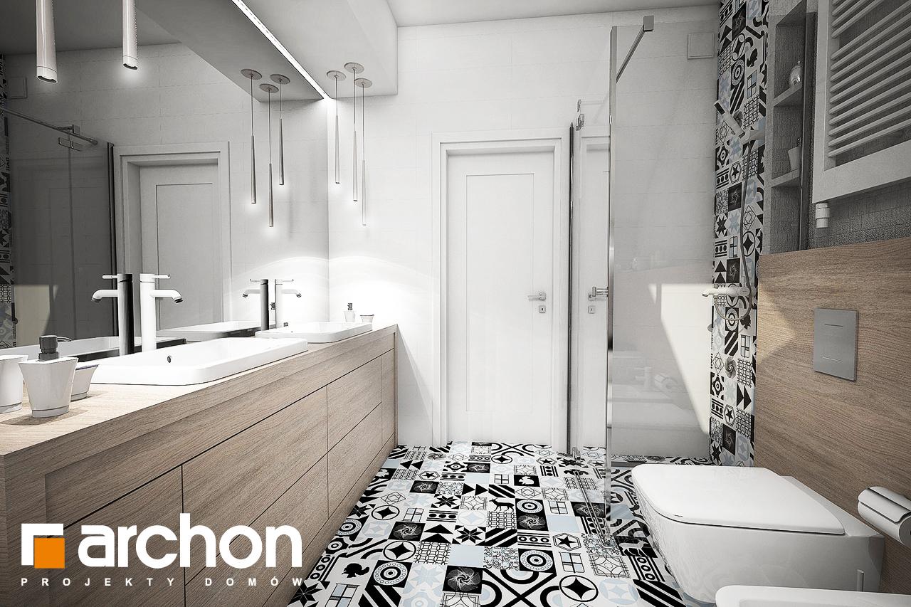 Проект будинку ARCHON+ Будинок в брунерах (Г2) візуалізація ванни (візуалізація 3 від 3)