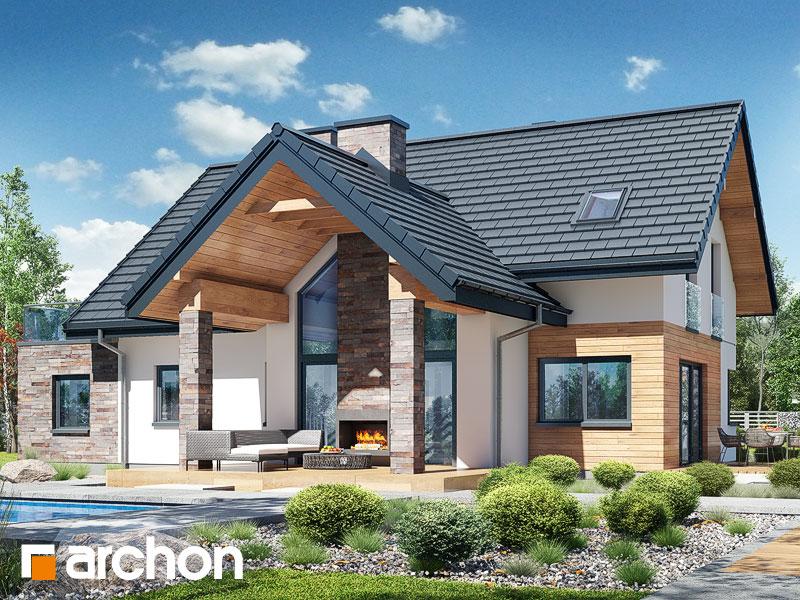 Проект будинку ARCHON+ Будинок в брунерах (Г2) Вид 1