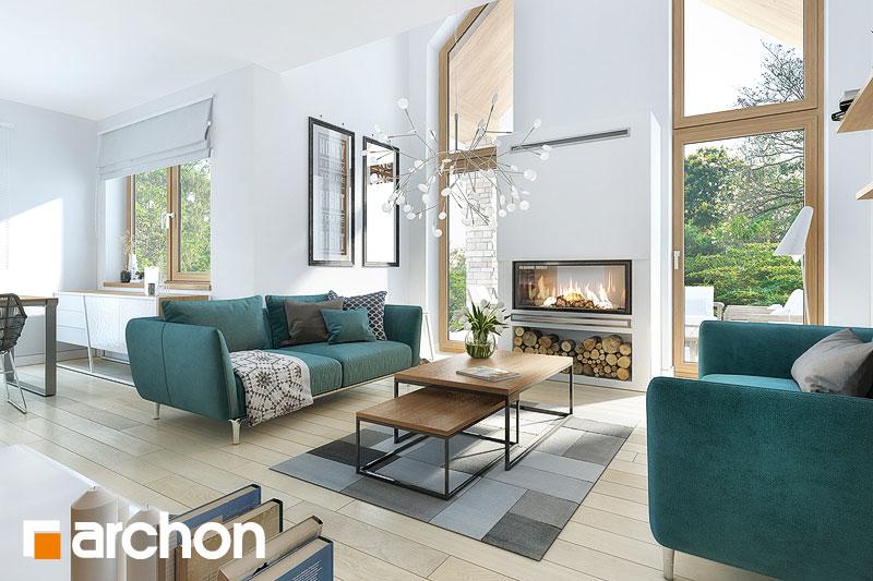 Проект будинку ARCHON+ Будинок в брунерах (Г2) денна зона (візуалізація 1 від 1)