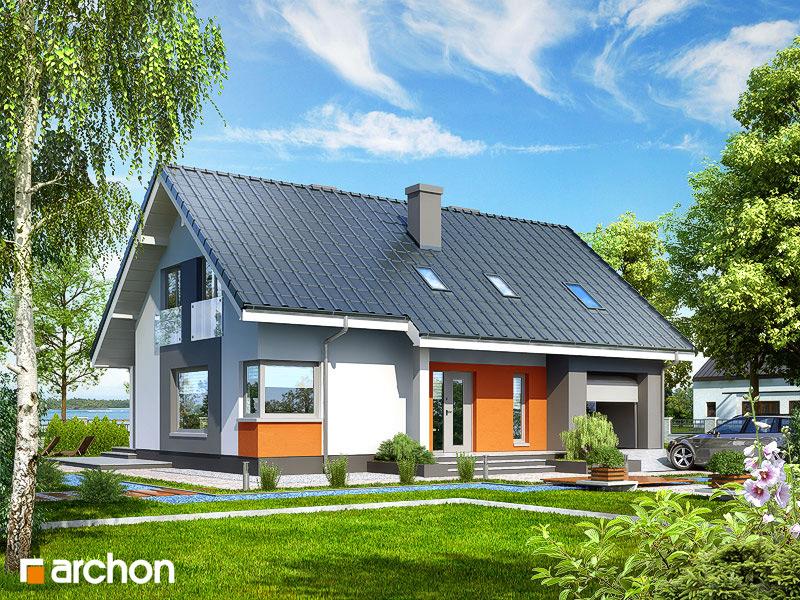 Проект будинку ARCHON+ Будинок в гейджею ver.2 стилізація 5