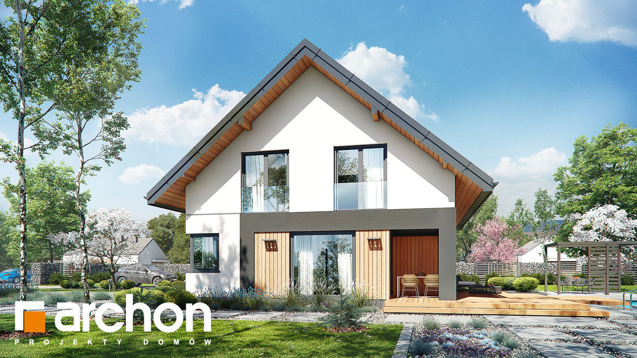 Проект будинку ARCHON+ Будинок в малинівці 7 додаткова візуалізація