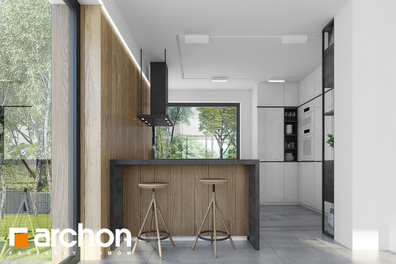 Проект будинку ARCHON+ Будинок в малинівці 7 візуалізація кухні 1 від 1