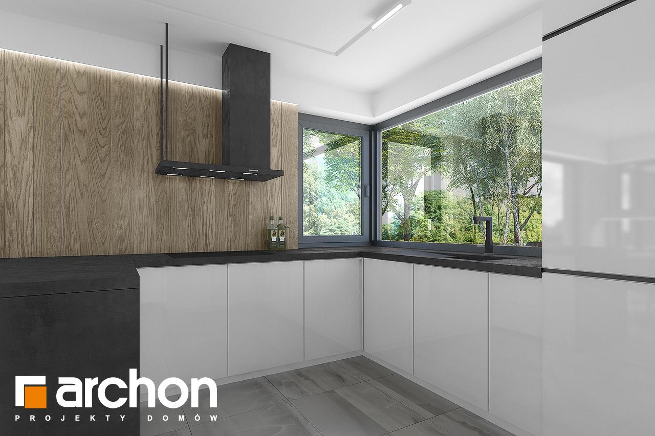 Проект будинку ARCHON+ Будинок в малинівці 7 візуалізація кухні 1 від 2