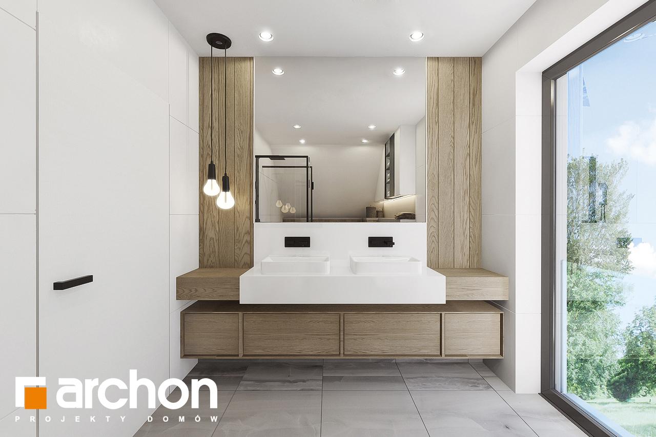 Проект будинку ARCHON+ Будинок в малинівці 7 візуалізація ванни (візуалізація 3 від 1)