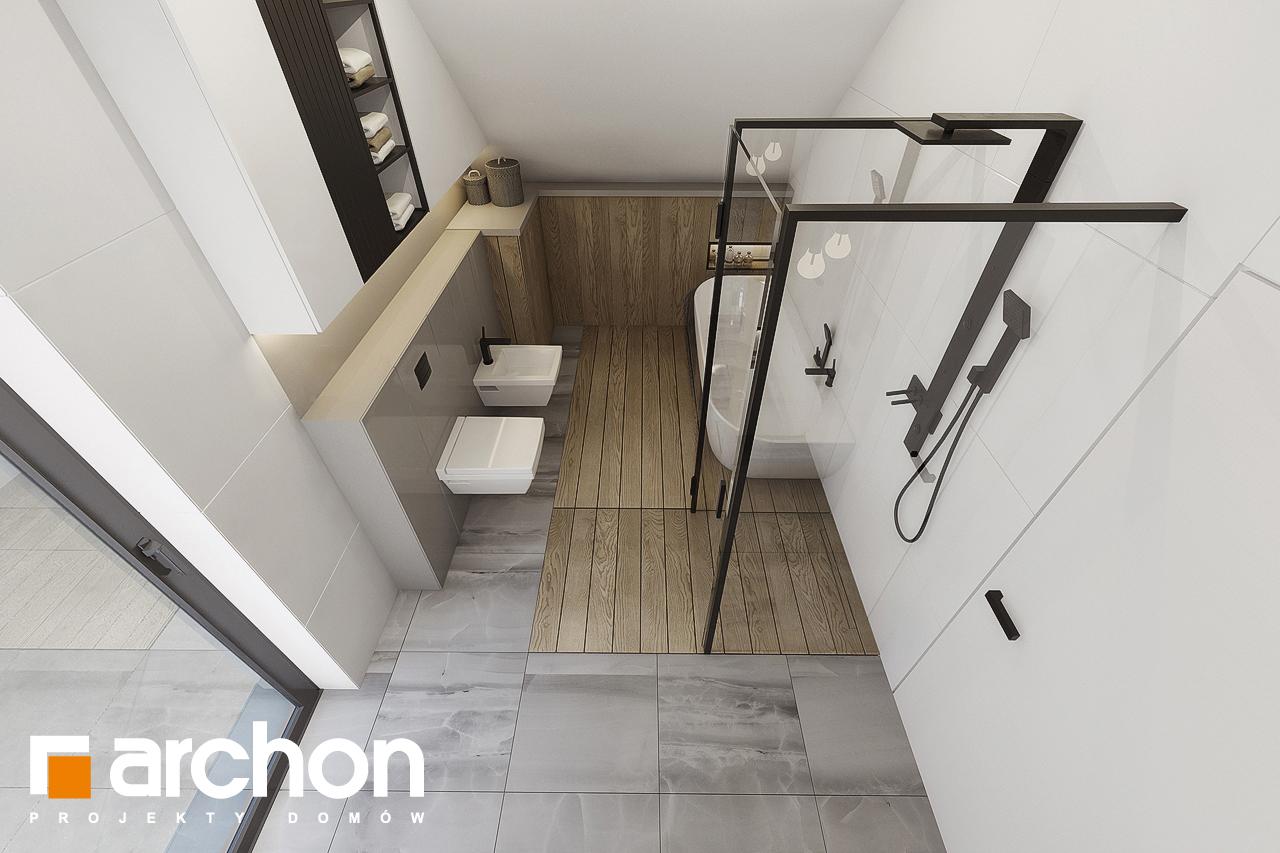 Проект будинку ARCHON+ Будинок в малинівці 7 візуалізація ванни (візуалізація 3 від 4)