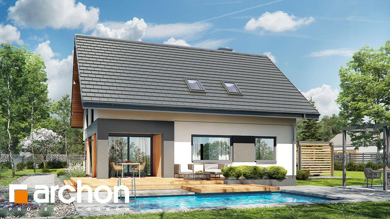 Проект будинку ARCHON+ Будинок в малинівці 7 Вид 2