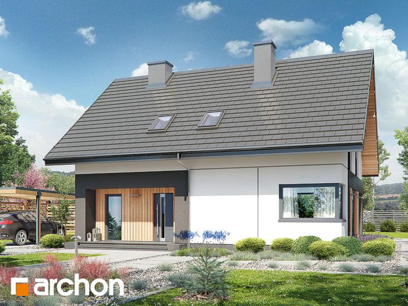 Проект будинку ARCHON+ Будинок в малинівці 7 Вид 1