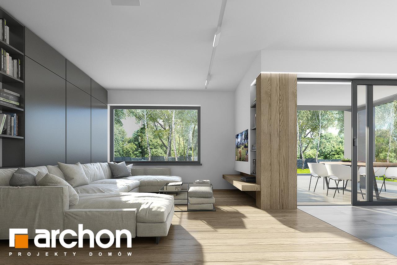 Проект будинку ARCHON+ Будинок в малинівці 7 денна зона (візуалізація 1 від 1)