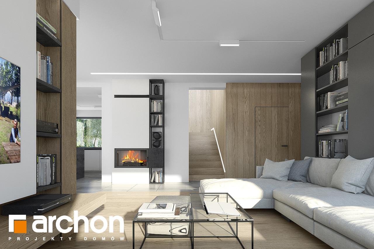 Проект будинку ARCHON+ Будинок в малинівці 7 денна зона (візуалізація 1 від 3)