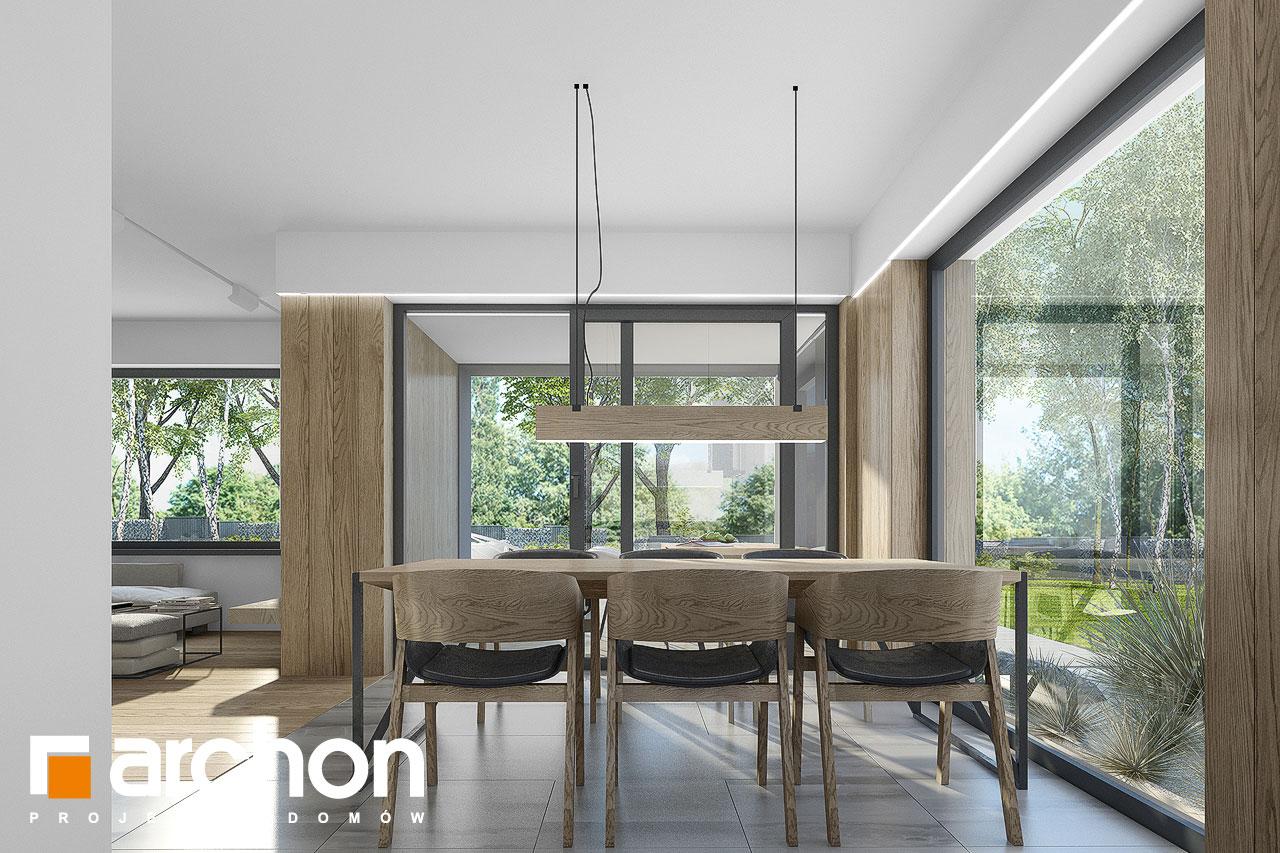 Проект будинку ARCHON+ Будинок в малинівці 7 денна зона (візуалізація 1 від 4)