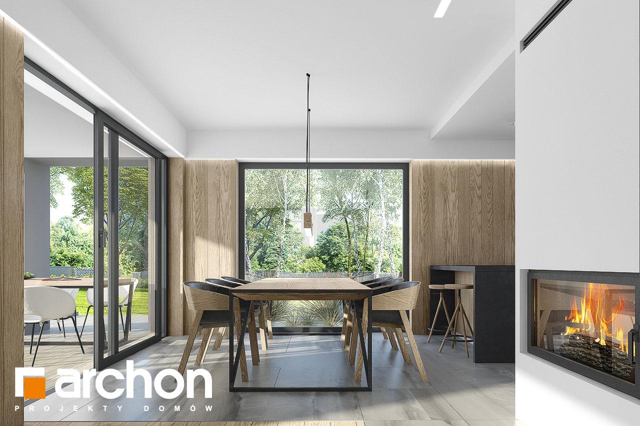 Проект будинку ARCHON+ Будинок в малинівці 7 денна зона (візуалізація 1 від 5)