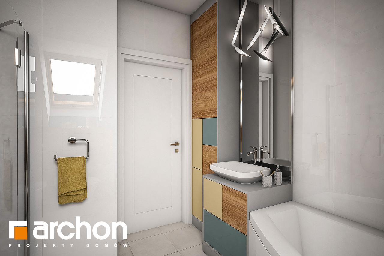 Проект дома ARCHON+ Дом в журавках 4 визуализация ванной (визуализация 3 вид 3)