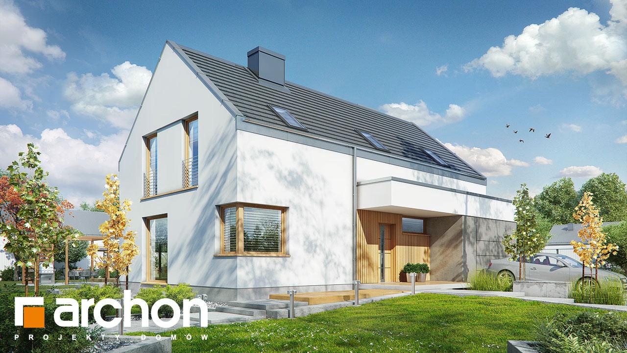 Проект будинку ARCHON+ Будинок в журавках 4 стилізація 3