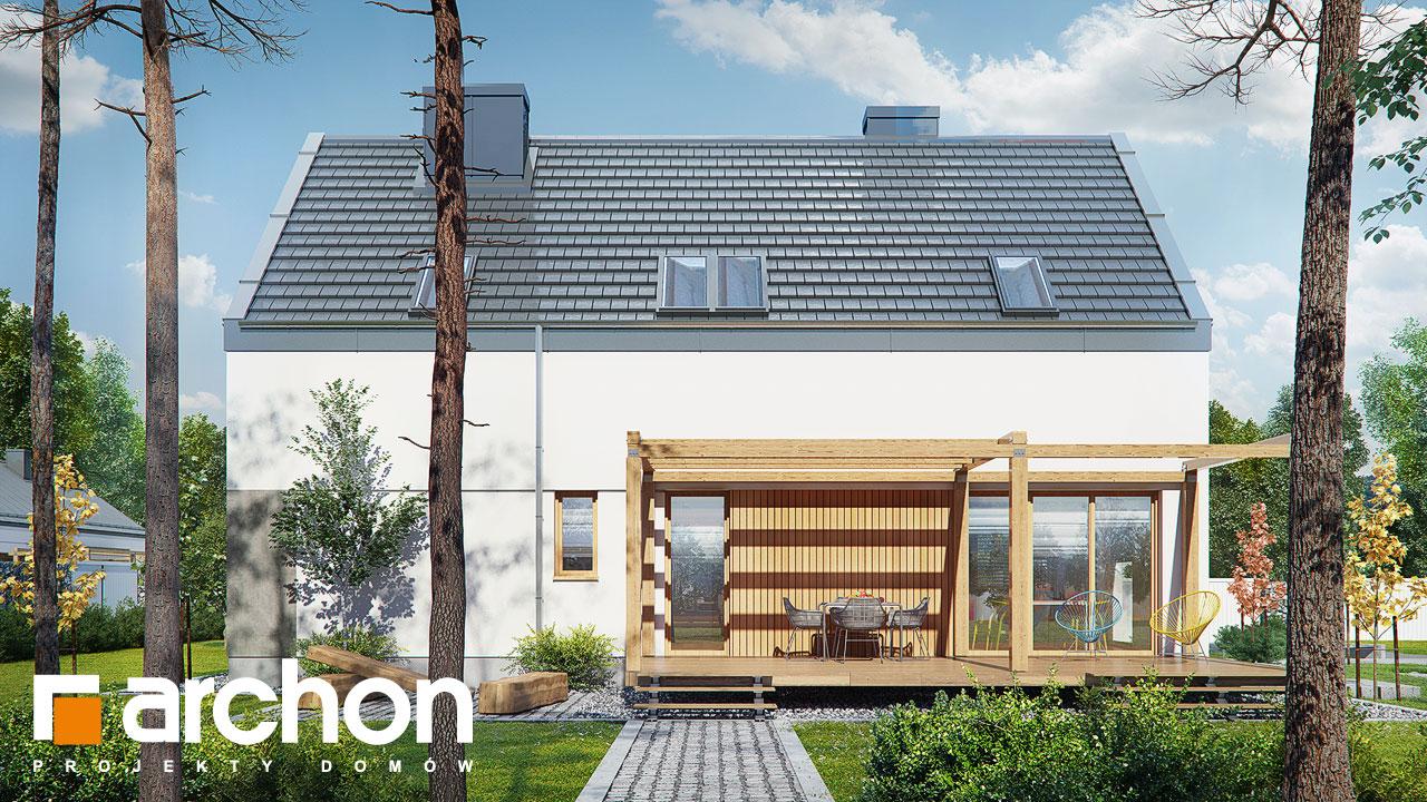 Проект будинку ARCHON+ Будинок в журавках 4 стилізація 4