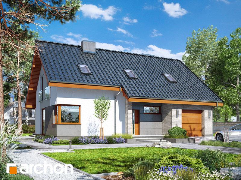 Проект будинку ARCHON+ Будинок в журавках 4 Вид 1