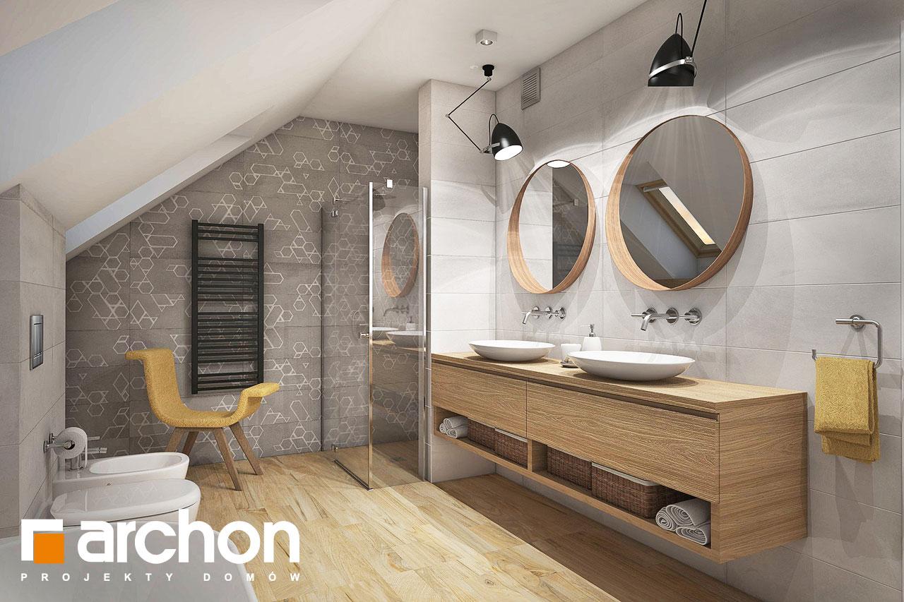 Проект будинку ARCHON+ Будинок в кортланді (Г2) візуалізація ванни (візуалізація 3 від 1)