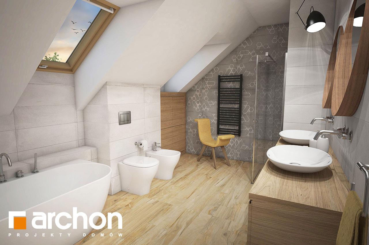 Проект будинку ARCHON+ Будинок в кортланді (Г2) візуалізація ванни (візуалізація 3 від 2)