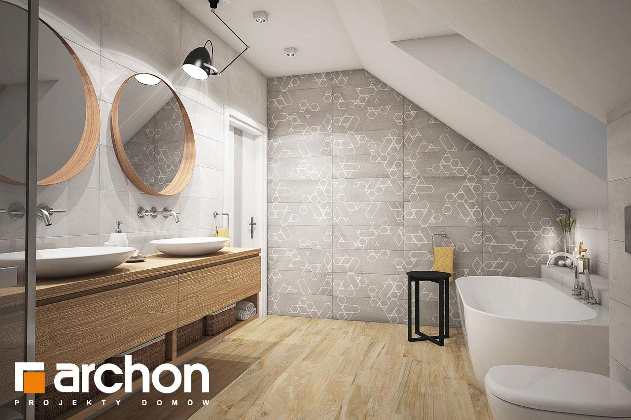 Проект будинку ARCHON+ Будинок в кортланді (Г2) візуалізація ванни (візуалізація 3 від 3)