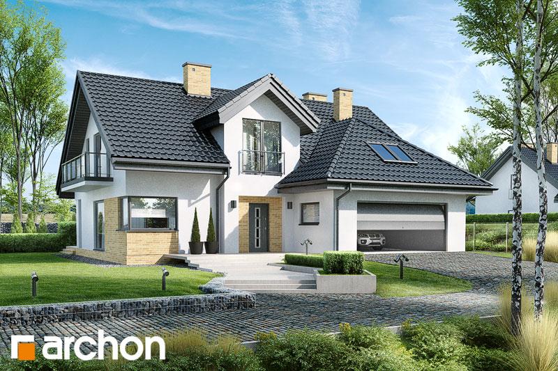 Проект будинку ARCHON+ Будинок в кортланді (Г2) стилізація 3