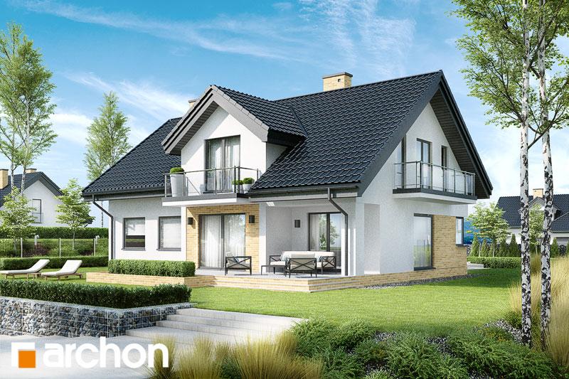 Проект будинку ARCHON+ Будинок в кортланді (Г2) стилізація 4