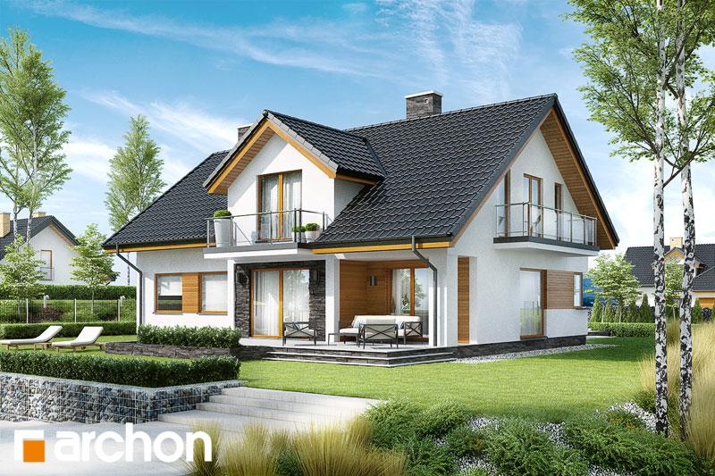 Проект будинку ARCHON+ Будинок в кортланді (Г2) стилізація 6