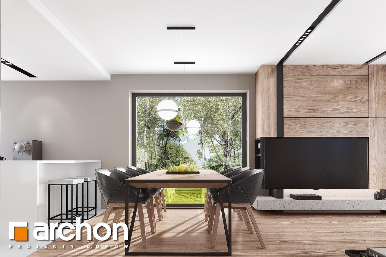 Проект будинку ARCHON+ Будинок в комміфорах 2 денна зона (візуалізація 1 від 4)