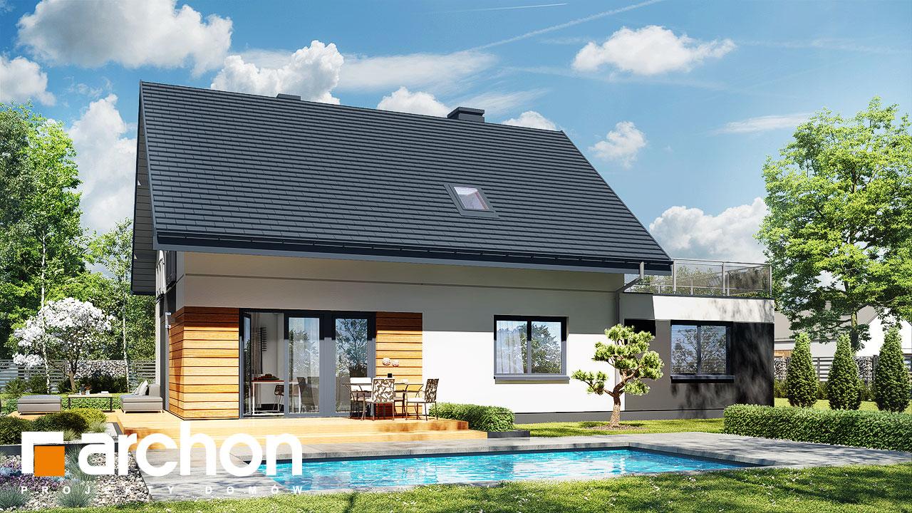 Проект будинку ARCHON+ Будинок в малинівці 11 (Г) Вид 2