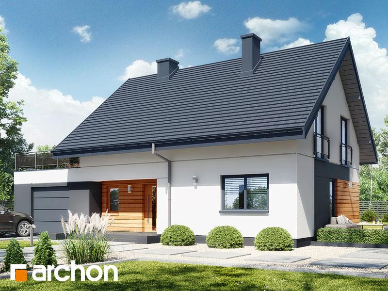 Проект будинку ARCHON+ Будинок в малинівці 11 (Г) Вид 1