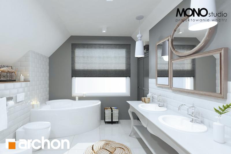 Проект будинку ARCHON+ Будинок в мірабеллі 2 вер.2 візуалізація ванни (візуалізація 1 від 1)