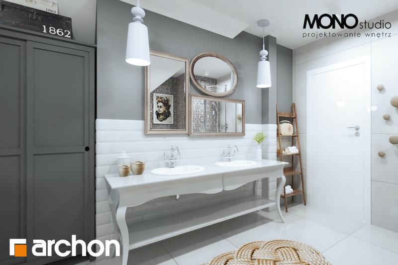 Проект будинку ARCHON+ Будинок в мірабеллі 2 вер.2 візуалізація ванни (візуалізація 1 від 4)