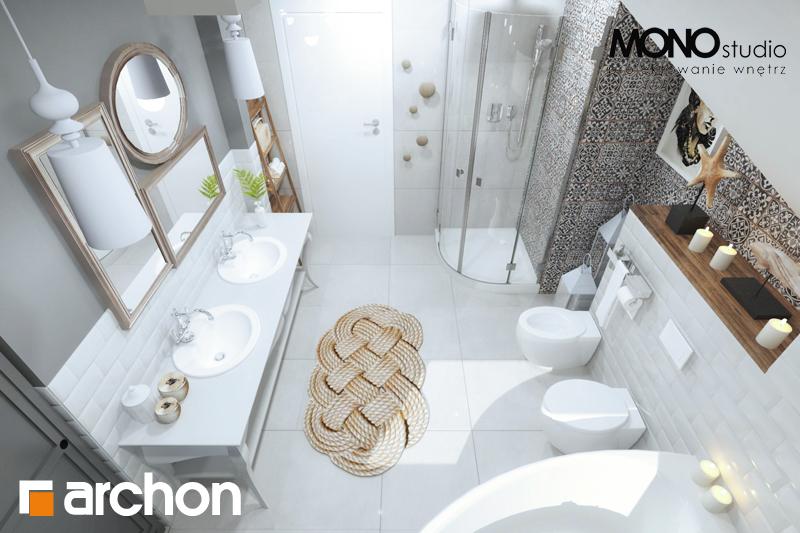 Проект будинку ARCHON+ Будинок в мірабеллі 2 вер.2 візуалізація ванни (візуалізація 1 від 5)