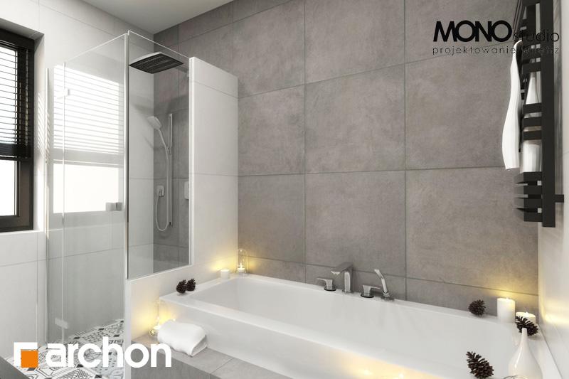 Проект дома ARCHON+ Дом под красной рябиной (Н) вер.2 визуализация ванной (визуализация 4 вид 1)
