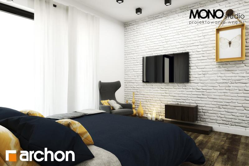 Проект дома ARCHON+ Дом под красной рябиной (Н) вер.2 ночная зона (визуализация 2 вид 5)