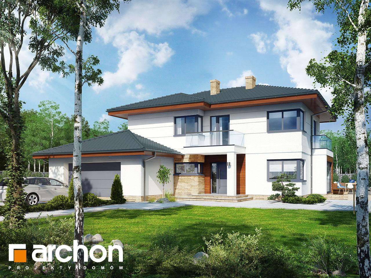 Проект будинку ARCHON+ Вілла Олівія 2 Вид 2