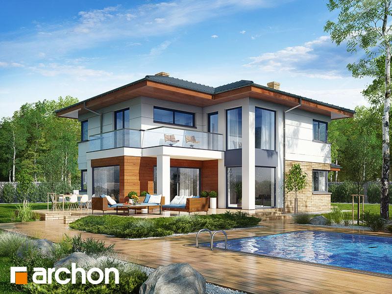 Проект будинку ARCHON+ Вілла Олівія 2 Вид 1